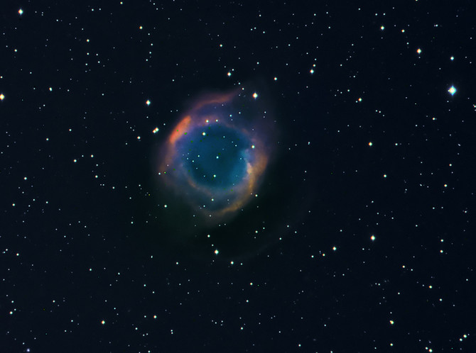 This is the Helix Nebula in Aquarius