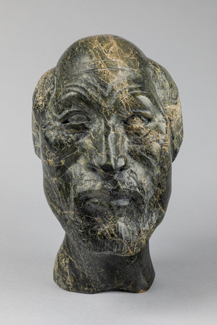 Henry Evaluardjuk, 'Self Portrait', 1993, 'from the collection of Orpheus Jacovides, donated in his memory'