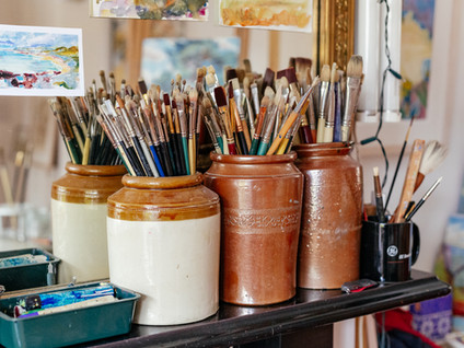 A visit to Cathy Parker's studio