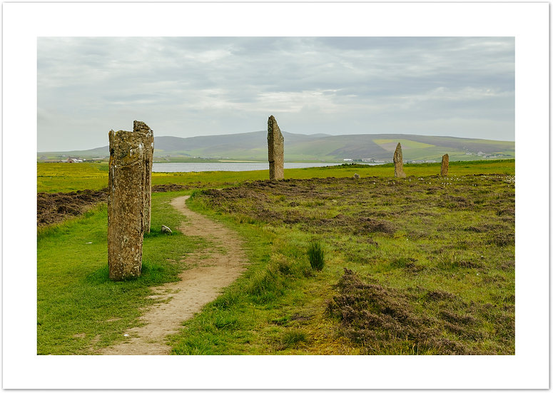 The Ring of Brodgar, Neolithic stone circle, Orkney
