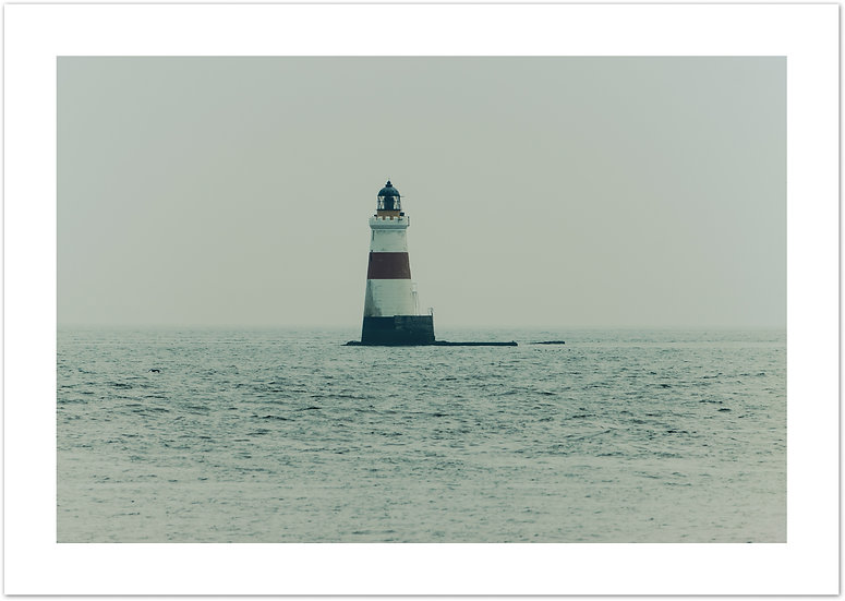 Oxcars Lighthouse, Firth of Forth, Scotland
