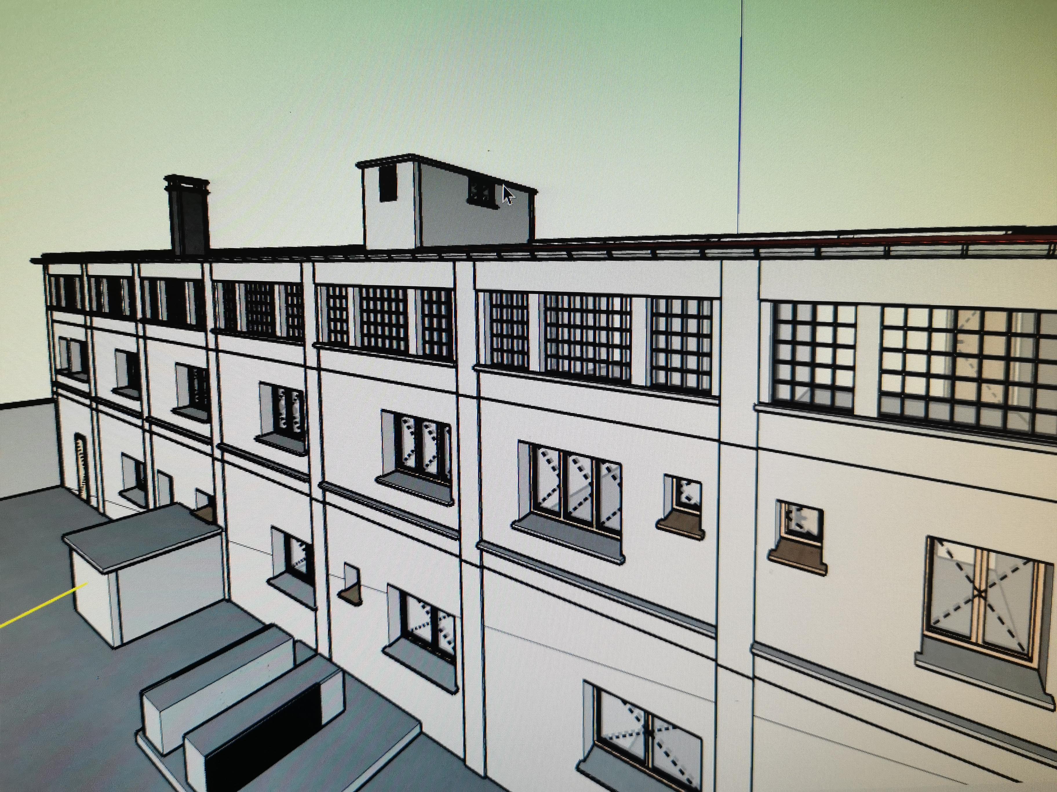 Modelisation 3D complète de votre projet, intérieur et extérieur suite à relevé SCANNER