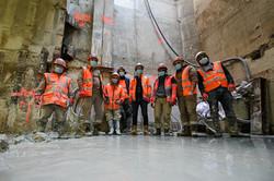 chantier metro paris agence vz