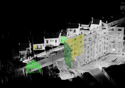 Quartier scanné - 3D - AGENCE VZ
