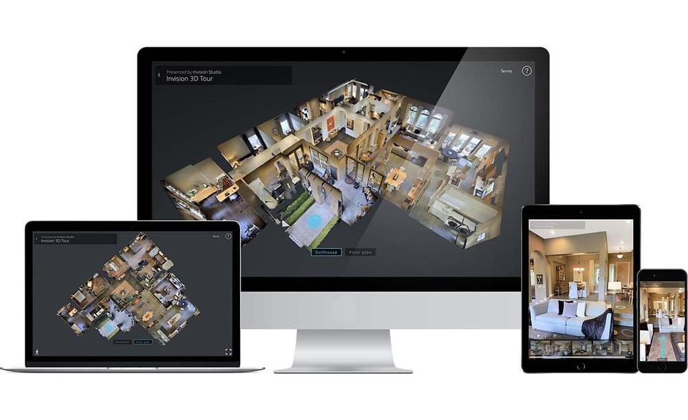 agence vz - 3d - immobilier - visite virtuelle - photo - reportage