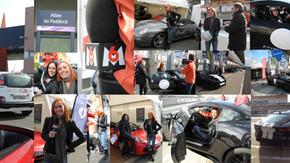 Reportage M6 TURBO - Vz en porsche et en Jaguar au Mans !