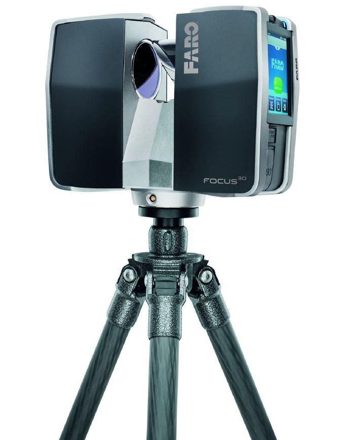 agencevz Laser scanner FARO relevé numérique de batiment