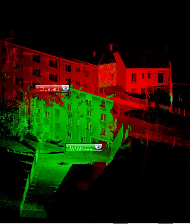Projet assemblé - Nuage suite a Scan 3D