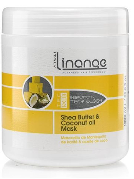 Linange Shea Butter and Coconut Oil Mask 1,000 ml 33.8 oz