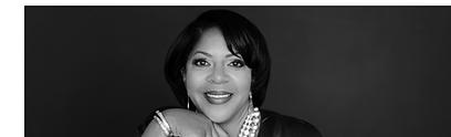 BLM Business Owner Denise_BlackWhite_Pic