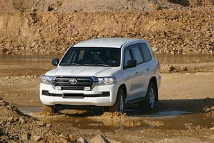 6. BL- armoured VR7 Toyota Land  Cruiser