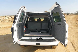 3. BL- armoured VR7 Toyota Land  Cruiser