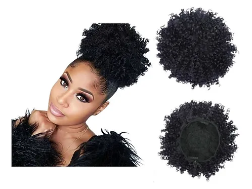 Coque Orgânico Afro Puff