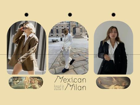 Mexican designer and entrepreneur based in Milan