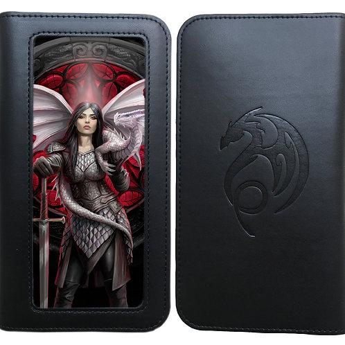 Anne Stokes 'Valour' Phone Wallet - 3D Lenticular