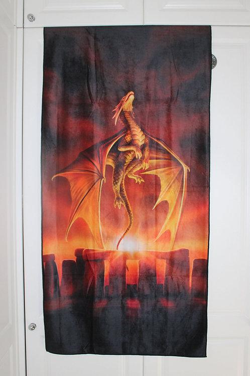 Solstice Towel   Anne Stokes