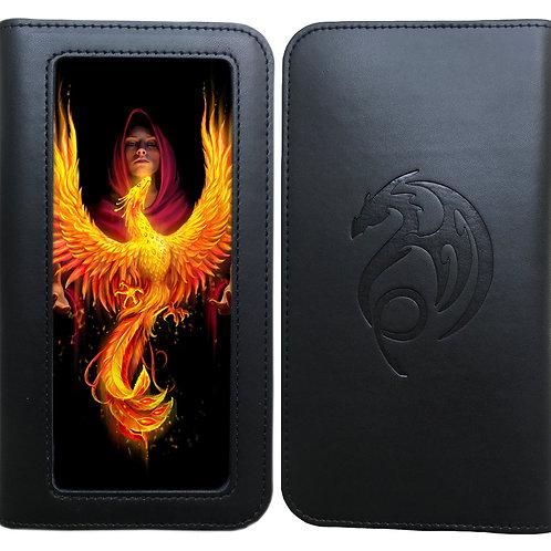 Anne Stokes 'Phoenix Rising' Phone Wallet - 3D Lenticular