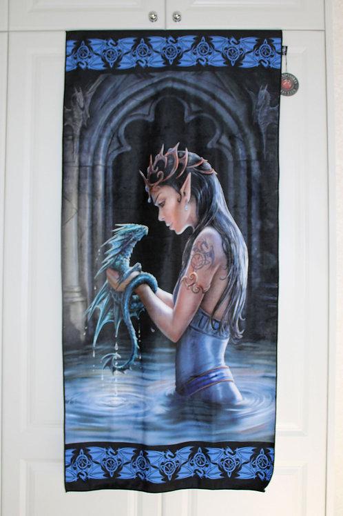 Water Dragon Towel   Anne Stokes
