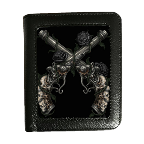 Grim Six Shooter - 3D Lenticular Wallet