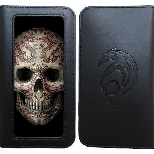 Anne Stokes 'Oriental Skull' Phone Wallet - 3D Lenticular