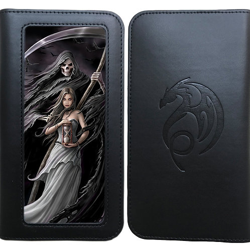 Anne Stokes 'Summon The Reaper' Phone Wallet - 3D Lenticular