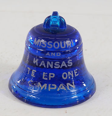 Blue Bell Advertising Paperweight - Local And Long Distance