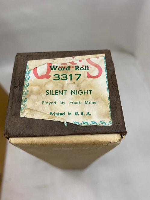 Piano Roll Silent Night 3317