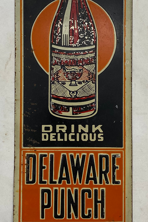 Vintage Delaware Punch Sign