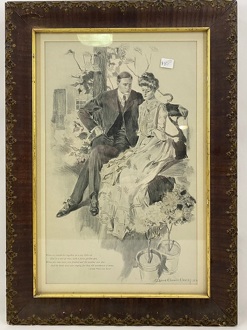 Print by Howard Chandler Christy