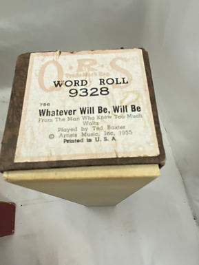 Piano Roll Whatever Will Be, Will Be 9328