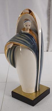 1950s Decorative Ceramic Statue