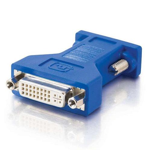 DVI Female to HD15 VGA Male Video Adapter