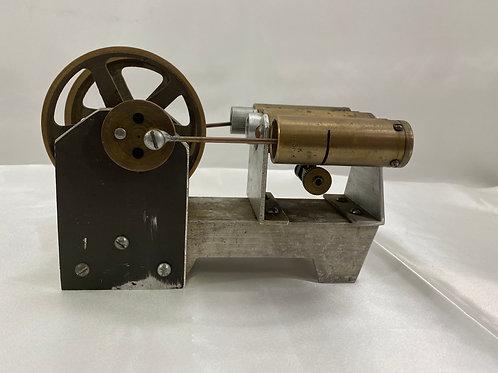 Vintage Brass Table Top Steam Engine