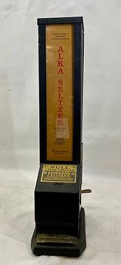 1930s One-Cent Alka Seltzer Dispenser Moderne Vendor