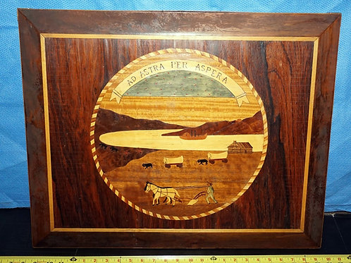 1940 Inlay Art of the Kansas Seal