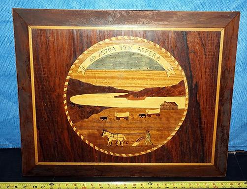 1940 Inlay Art of the Kansas Seal