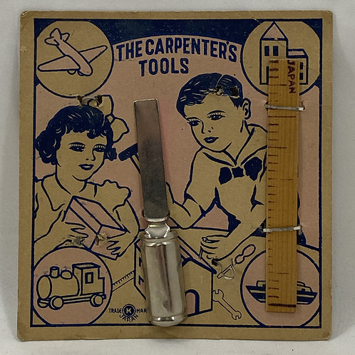 Vintage The Carpenter's Tools