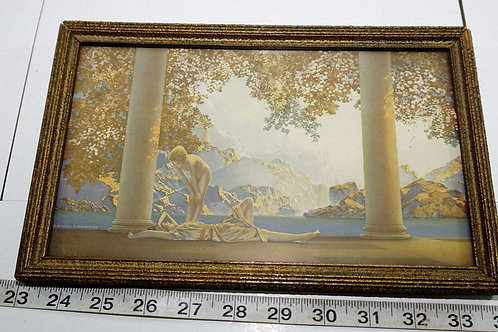 Framed Maxfield Parrish -daybreak