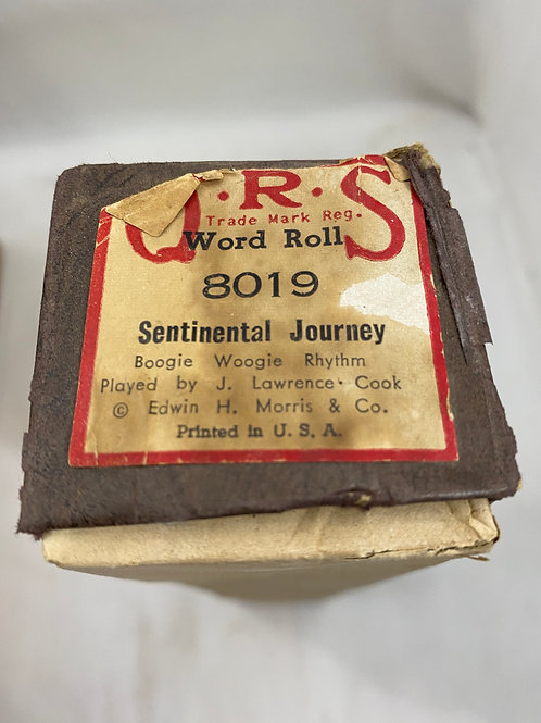 Piano Roll Sentinental Journey 8019