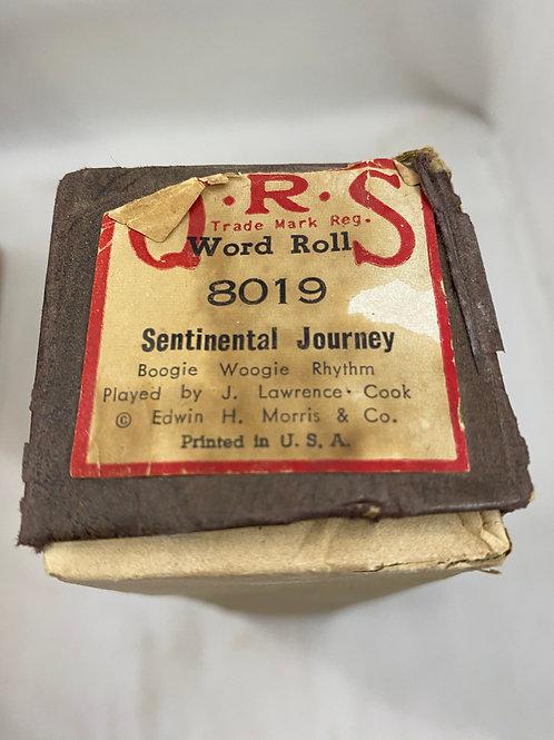 Piano Roll Sentinental Journey 8019