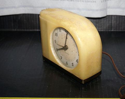 1940s Westclox Butterscotch Moonbeam Alarm Clock
