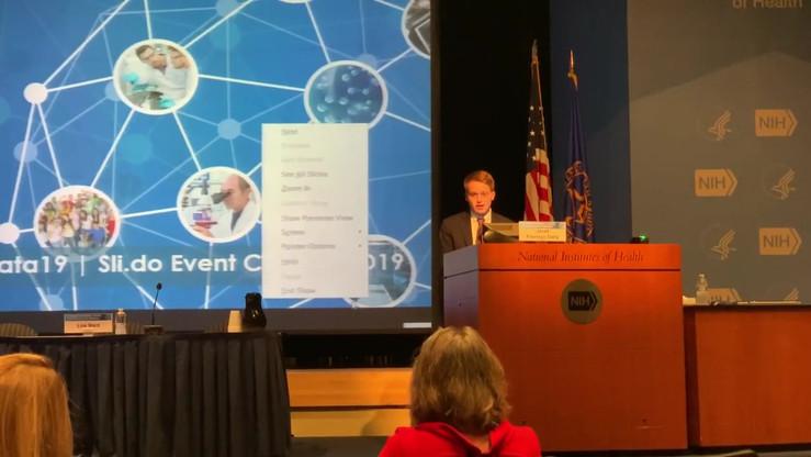 Jace Ward presenting at the NCI Personal