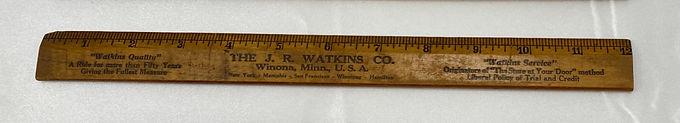 Wooden Ruler - The JR Watkins Co