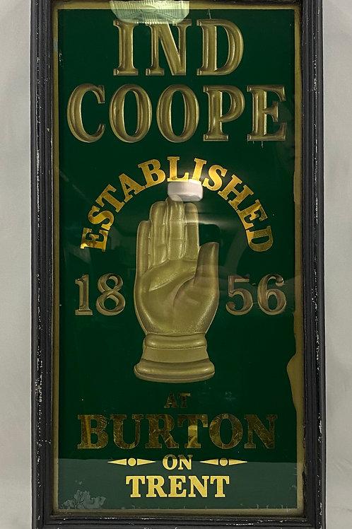 IND COOPE Burton on Trent Sign