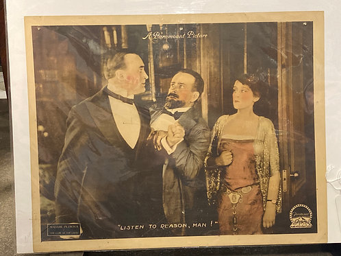 """""""The Law of The Land"""" Silent Movie Posters"""