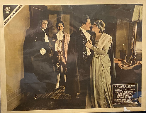 """""""The Beautiful Mrs Reynolds"""" 1918 Silent Movie Poster"""