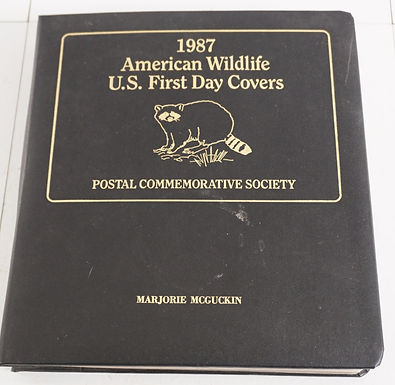 1980s American Wildlife U S First Day Covers - Postal Commem