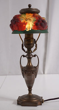 1920s Pairpoint Puffy Grapes Lamp