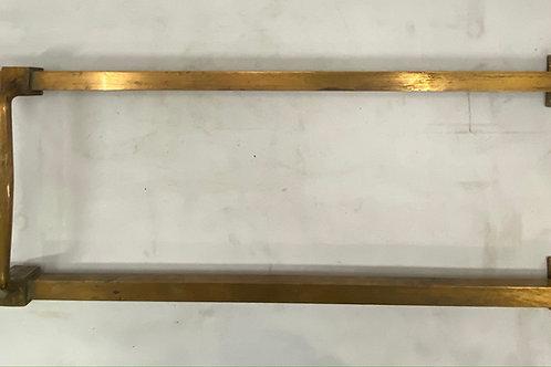 Set of Brass Double Door Handles