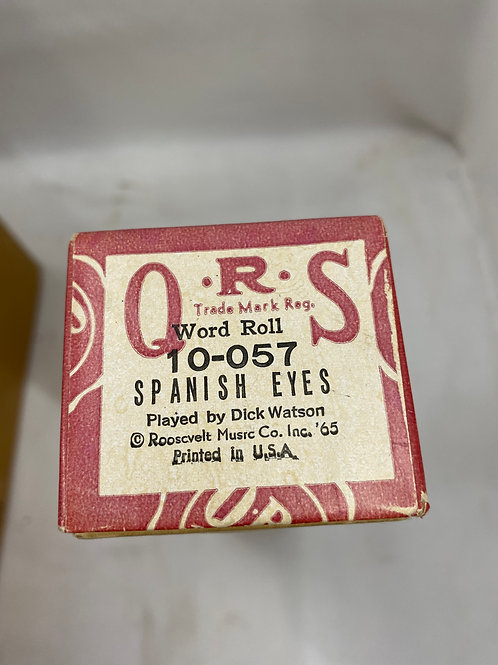 Piano Roll Spanish Eyes 10-057